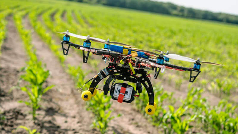 drone na agricultura